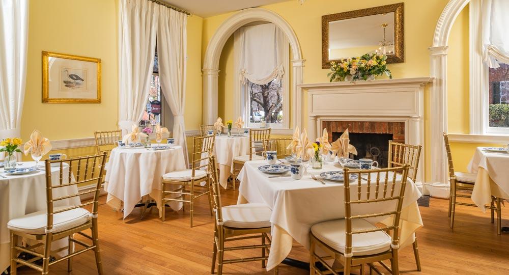 The Restaurant At The Kenmore Inn Fredericksburg Va